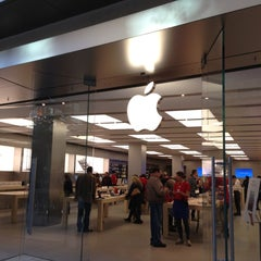 Photo taken at Apple Store, City Creek Center by Christian W. on 11/19/2012