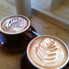 Photo taken at Blue Bottle Coffee by Gabrielle E. on 2/9/2013