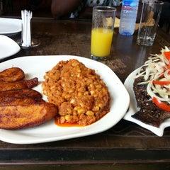 Photo taken at Buka Restaurant by Uchenna M. on 10/19/2012