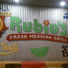 Photo taken at Rubio's by Lisa B. on 12/5/2012