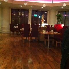 Photo taken at Hilton Warwick/Stratford Upon Avon by Shaun M. on 12/16/2012