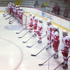 Photo taken at Lynah Rink by Stephen W. on 3/16/2013