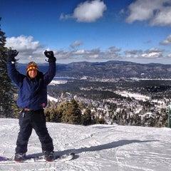 Photo taken at Bear Mountain Ski Resort by David C. on 2/10/2013