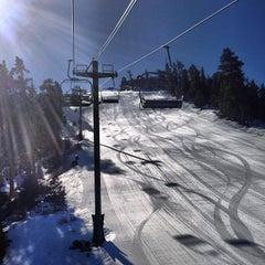 Photo taken at Bear Mountain Ski Resort by David C. on 2/7/2013
