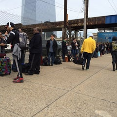 Photo taken at BoltBus Stop by Andrew T. on 3/13/2015
