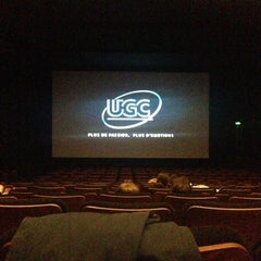 Photo taken at UGC Astoria by Guillaume on 11/2/2012