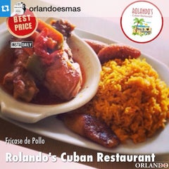 Photo taken at Rolando's Cuban Restaurant by Orlando e. on 4/28/2015