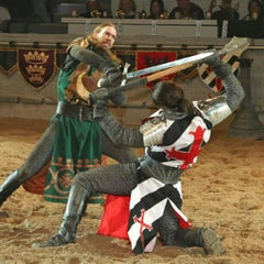 Photo taken at Medieval Times Dinner & Tournament by Orlando e. on 2/25/2013