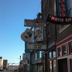 Photo taken at Ernest Tubb Record Shop by Doug P. on 1/20/2013
