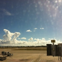 Photo taken at Palm Beach International Airport (PBI) by Dave P. on 12/7/2012
