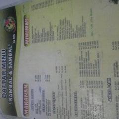 Photo taken at Gubug Sambal & Sambal by Citra F. on 11/6/2012
