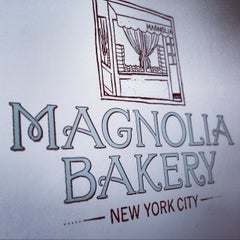 Photo taken at Magnolia Bakery by Satu K. on 10/27/2012