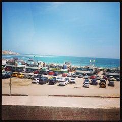 Photo taken at Playa El Silencio by Victor André C. on 2/15/2013