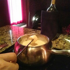 Photo taken at The Melting Pot by Linda A. on 3/14/2013