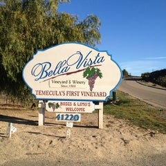 Photo taken at Bella Vista Winery by Amber C. on 1/19/2013