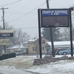 Photo taken at Franklin Hardware & Pet Center by Anna M. on 2/5/2013