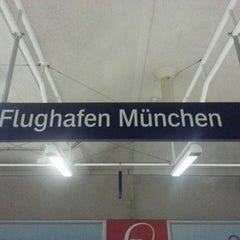 Photo taken at S Flughafen München by Meisterschale on 7/10/2013