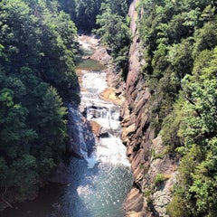 Photo taken at Tallulah Gorge State Park by Phillip L. on 6/16/2013