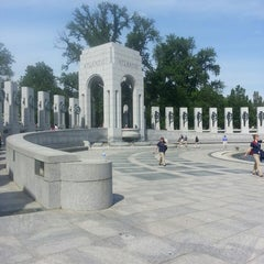 Photo taken at World War II Memorial by Debbie C. on 5/10/2013