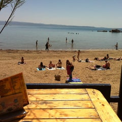 Photo taken at Caffe bar Žbirac by Central Dalmatia on 10/9/2012