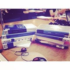 Photo taken at Bibliothèque Cujas by Elodie B. on 11/21/2014