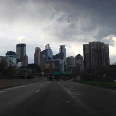 Photo taken at Downtown Minneapolis by Brett F. on 5/3/2015