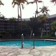 Photo taken at Ocean Tower Pool by Joann B. on 2/23/2013