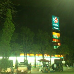 Photo taken at ปั้ม ก.ไก่ ละแม by ป้อ FB/ Twit/ iG/ Line: @kapohman on 9/25/2012
