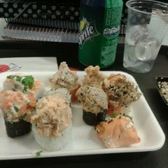 Photo taken at Irachai Sushi House by Bruna R. on 10/12/2012
