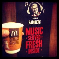 Photo taken at KFC by TADKA S. on 2/23/2014