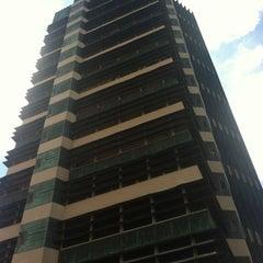 Photo taken at Price Tower by Megan B. on 8/13/2012