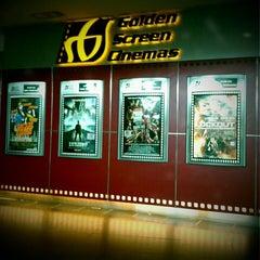 Photo taken at Golden Screen Cinemas (GSC) by Edward E. on 4/27/2012