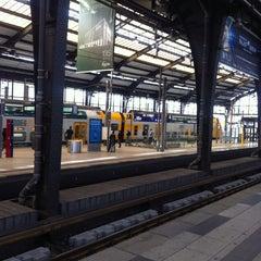 Photo taken at Bahnhof Berlin Friedrichstraße by Tom M. on 9/24/2014