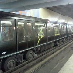 Photo taken at Metro Los Leones by Claudio I. on 11/22/2012