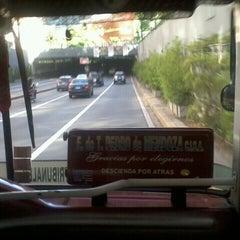Photo taken at Tunel Av. Libertador by Moni C. on 12/7/2013