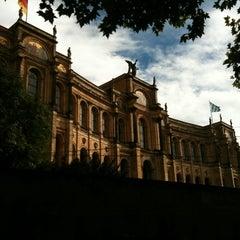 Photo taken at Bayerischer Landtag by Giovanni Luca F. on 10/11/2012