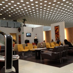 Photo taken at The Centurion Lounge by American Express by Jorge Luis P. on 12/2/2012