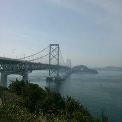 Photo taken at 大鳴門橋 by mogmogk2 on 3/17/2013