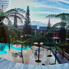 Photo taken at Mikie Holiday Resort & Hotel by Muhammad Z. on 8/28/2015