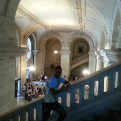 Photo taken at New York Public Library - 115th Street Library by Maurizio N. on 7/17/2013