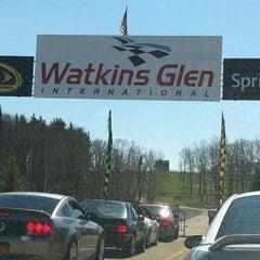 Photo taken at Watkins Glen International by Jenna K. on 4/21/2013