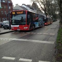 Photo taken at H Hansemannplatz by Brave H. on 12/28/2012