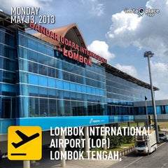 Photo taken at Lombok International Airport (LOP) by Mokhtar A. on 5/13/2013