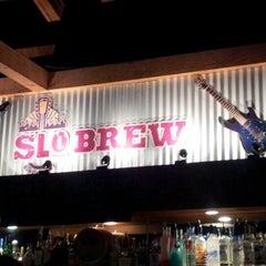 Photo taken at SLO Brew by Lauren K. on 1/4/2013