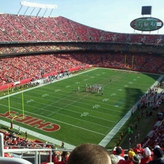 Photo taken at Arrowhead Stadium by Jacob T. on 12/2/2012
