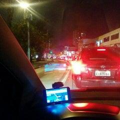 Photo taken at Avenida Cupecê by Felipe L. on 9/18/2015