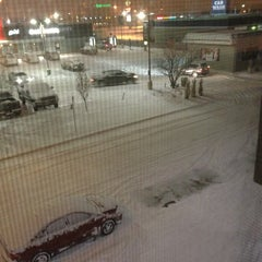 Photo taken at Four Points by Sheraton Hotel & Suites Calgary West by Melanie A. on 1/10/2013