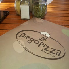 Photo taken at Diego Pizza by Ximena S. on 2/10/2013