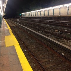 Photo taken at MTA Subway - 20th Ave (N) by Nastya S. on 10/10/2014
