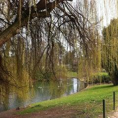 Photo taken at Bois de Boulogne by Maria-Clara M. on 3/30/2013